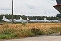 An-12 & IL-22 line-up at Chkalovsky (8563742252).jpg