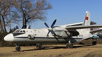 Antonov An-26 - CAAC Antonov An-26 at China Aviation Musem, Beijing