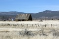 An old hay barn on the outskirts of Susanville, seat of Lassen County, California LCCN2013631205.tif