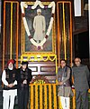 Ananth Kumar, the Minister of State for Agriculture & Farmers Welfare and Parliamentary Affairs, Shri S.S. Ahluwalia and other dignitaries paid tributes to Pandit Madan Mohan Malviya on his birth anniversary.jpg