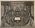 Anatomy Theatre, Leyden, the Netherlands. Line engraving. Wellcome V0012828.jpg