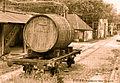 Anciennes halles au vin de Paris-Bercy. Un wagon foudre.jpg
