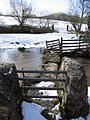 Ancient Stone Clapper Bridge. - geograph.org.uk - 342884.jpg