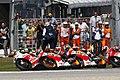 Andrea Iannone, Marc Márquez, Dani Pedrosa and Andrea Dovizioso 2014 Misano.jpeg