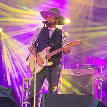 Andrew Farriss no Gympie Muster 2019.