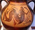 Anfora etrusca con tritone, da vulci, 520 ac ca. 02.JPG
