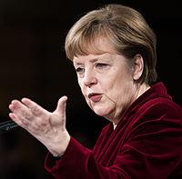 Angela Merkel Security Conference 7 February 2015 (cropped).jpg