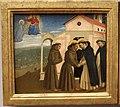 Angelico, predella con scene francescane, 1429, 02.JPG