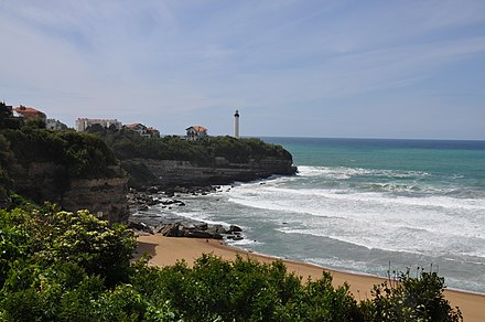 Anglet wikimonde for Biarritz chambre d amour