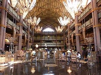 Disney's Animal Kingdom Lodge - Lobby of Jambo House