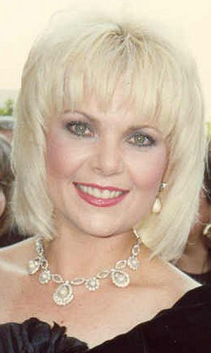 Ann Jillian - Jillian at the 1988 Emmy Awards