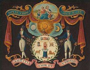 Emblems for Royal Crown Lodge No. 22