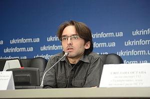 Юрій Булка, член правління ГО «Вікімедіа Україна», редактор української Вікіпедії