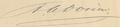 Antoine aimé dorion signature.png