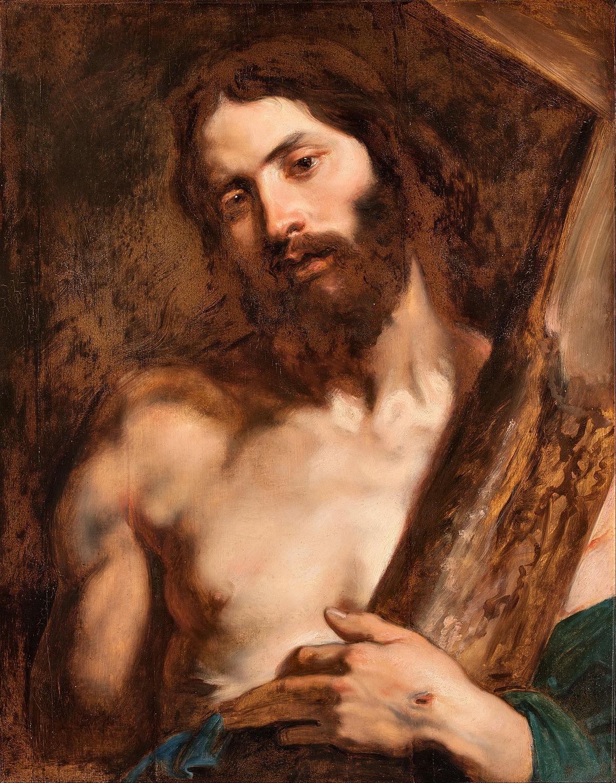 моя христос в картинах художников богатым