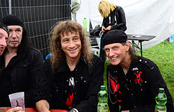Anvil beim Headbangers Open Air 2014