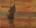 AokiShigeru-1910-Sea at Sunset-2.png