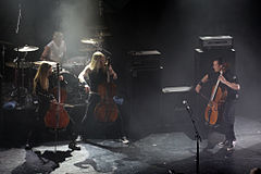 Apocalyptica @ 70000 tons of metal 2015 10.jpg