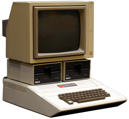Apple II tranparent 800