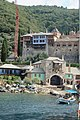 Approching the Dochiariou monastery - approaching the dock.jpg