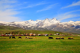 Aragats mountain, Aragatsotn, Armenia