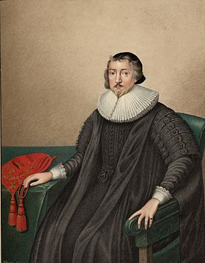 John Williams (archbishop of York) - Image: Archbishop John Williams 1582 1650 portrait