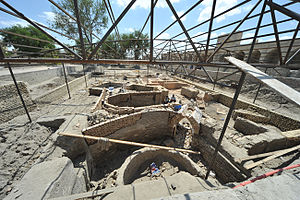 Conservation and restoration of archaeological sites - Archeological Excavation