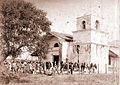Archivo General de la Nación Argentina 1890 aprox Jujuy, Capilla de la Virgen del Rosario en el valle de Palpalá, Río Blanco.jpg