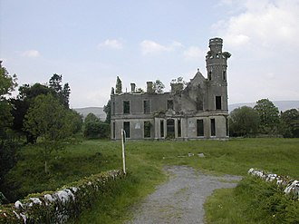 Kilgarvan - Ruins of Ardtully House outside Kilgarvan