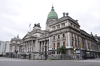 National Congress of Argentina - Image: Argentine National Congress (Pedestrians digitally removed) (8081437098)