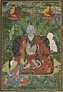 Arhat, Distemper on cloth Sino-Tibetan, Qianlong period. likely 1794, Sotheby's.jpg