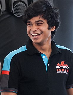 Arjun Maini Indian racing driver