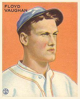 Arky Vaughan American baseball player