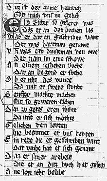 Regeln, die auf den deutschen Typen datieren