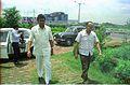 Armoogum Parsuramen With Saroj Ghose Visiting Science City Site - Calcutta 1994 370.JPG