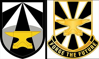 United States Army Combat Capabilities Development Command - Army Futures Command Shoulder Sleeve Insignia and Distinctive Unit Insignia