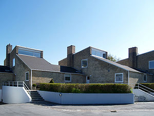 Arne Jacobsen - Søholm I terraced houses, Klampenborg