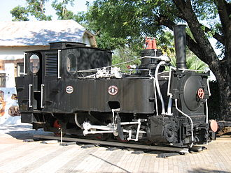 0-6-2 - Jung no. 9 plinthed in Tsumeb
