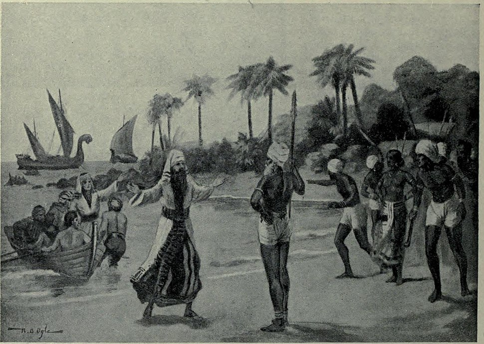 Arrival of the Jewish pilgrims at Coachin, A.D. 68