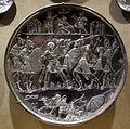 Arte costantinopolitana, piatti in argento con storie di david, 629-30, da karavas a cipro, 01.JPG