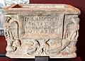 Arte romana, urna del vicario eutiche, II sec..JPG