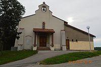 Artix, Ariege, Church.JPG