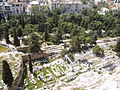 Asclepieion of Athens from the Acropolis.jpg