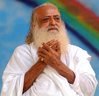 "Asaram Self-styled ""charismatic guru"" and convicted child rapist"