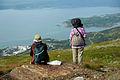 Asiatiska turister i Narvik Norge.jpg
