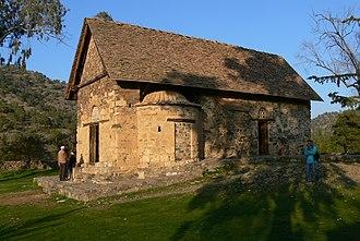 Nikitari - Image: Asinou Kirche Außen 1