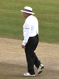 Marais Erasmus South African cricket umpire
