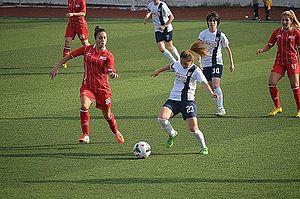 İlkadım Belediyesi Yabancılar Pazarı Spor - İlkadım Belediyesi Yabancılar Pazarı Spor in the 2014–15 season's away match against Ataşehir Belediyespor.