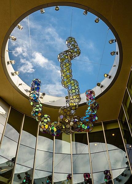 File:Atrium of UC Davis Blaisdell Medical Library - panoramio.jpg