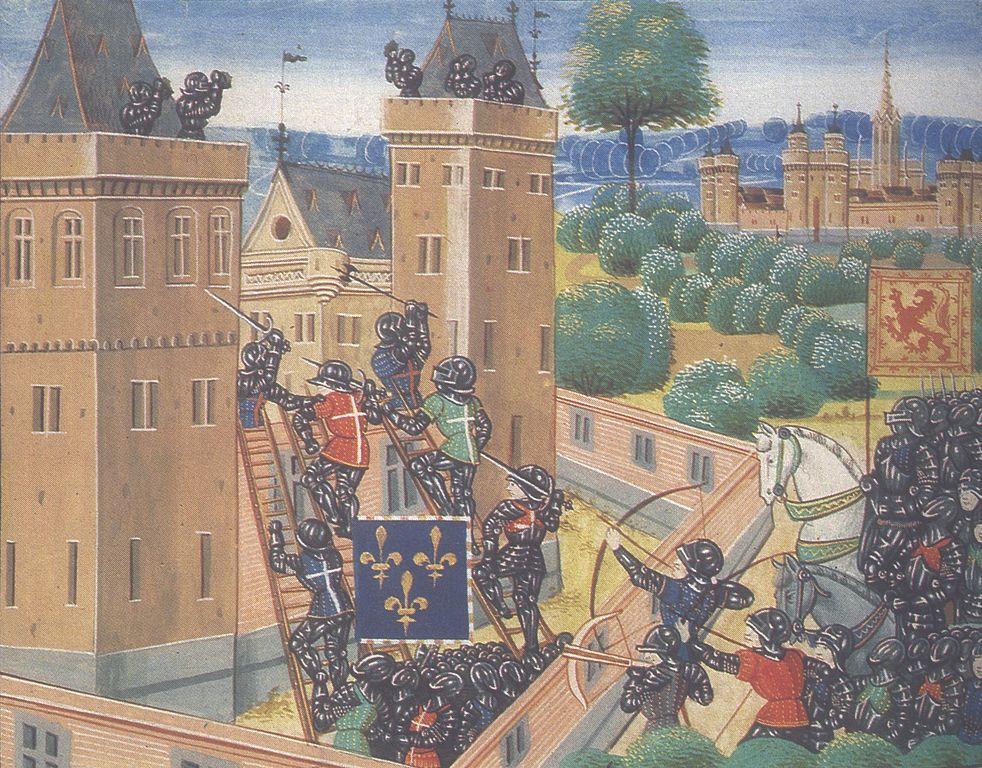 File:Attack on Wark Castle.jpg - Wikimedia Commons